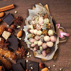 Клубника в шоколаде 01