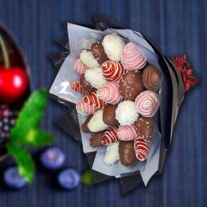 Клубника в шоколаде 15